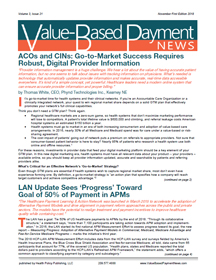 Value-Based Payment  News