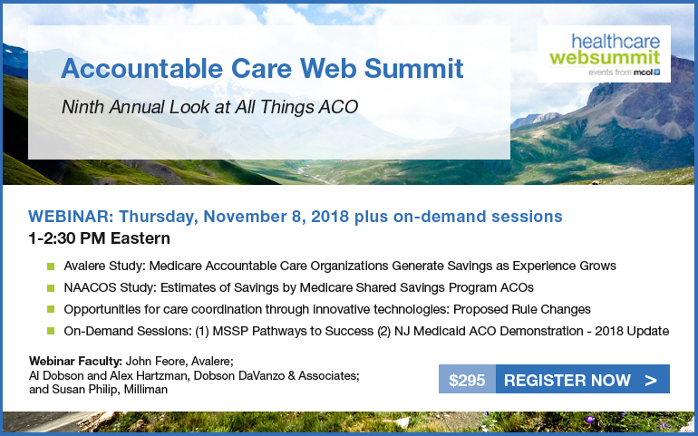 Ninthh Annual Accountable Care Web Summit - 2018